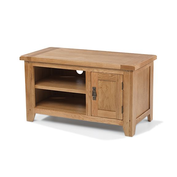 Loxley Oak Straight TV Unit (door)