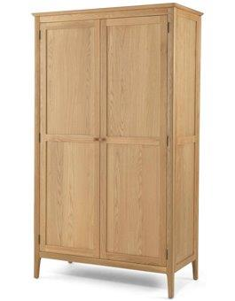 Stanton Oak Double Wardrobe